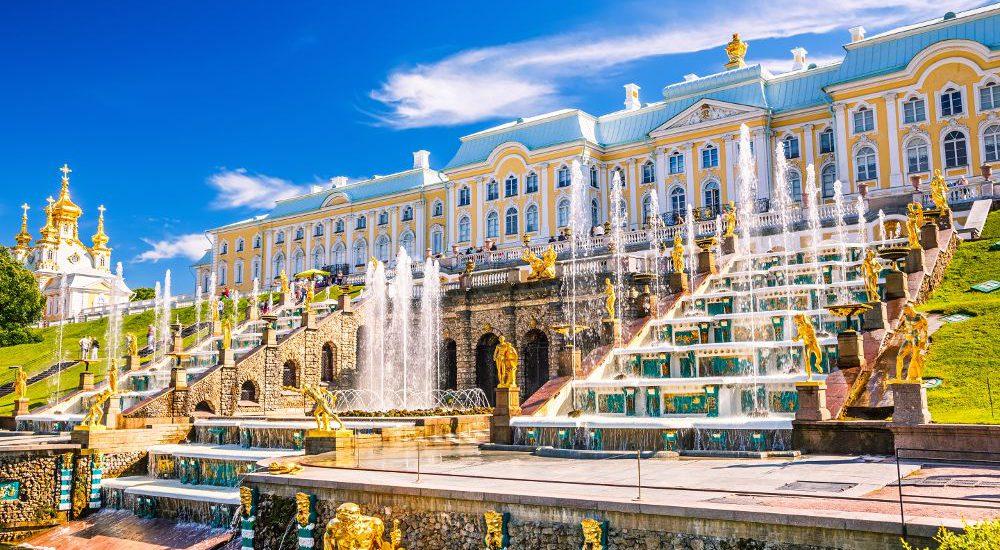Sankt Petersburg an der Ostseeküste